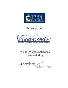 Aberdeen Advisors Negotiated the acquisition of Tradewinds Tombstone by 1754 Properties. The seller was exclusively represented by Aberdeen Advisors.